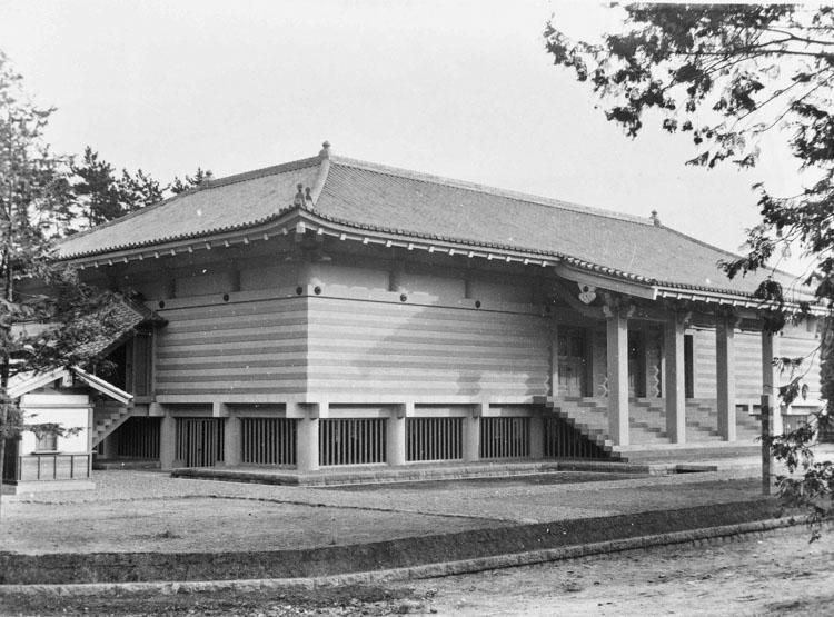 国宝館の開館当初